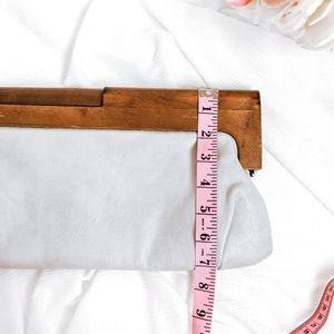 Melie Bianco Bags - Wooden Melie Bianco Nordstrom Wooden Handle Clutch